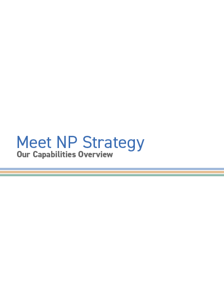 NP Strategy Brochure